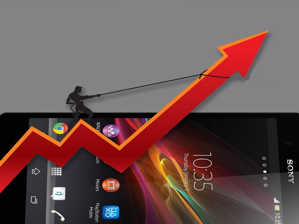 – Stadig flere kjøper Sony-mobiler