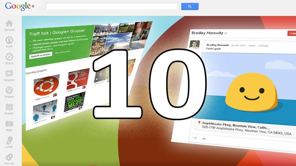 Google+ har flere ess i ermet.