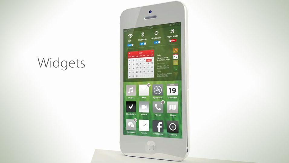 Ny konseptvideo viser iOS 7 med en touch av Android