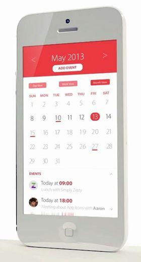 Ville du heller hatt denne kalenderen på iPhone-en din?