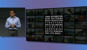 Bildeforbedringen omtalte Google som Auto Enhance, her under er det mange ulike typer bildeforbedring som gjelder.