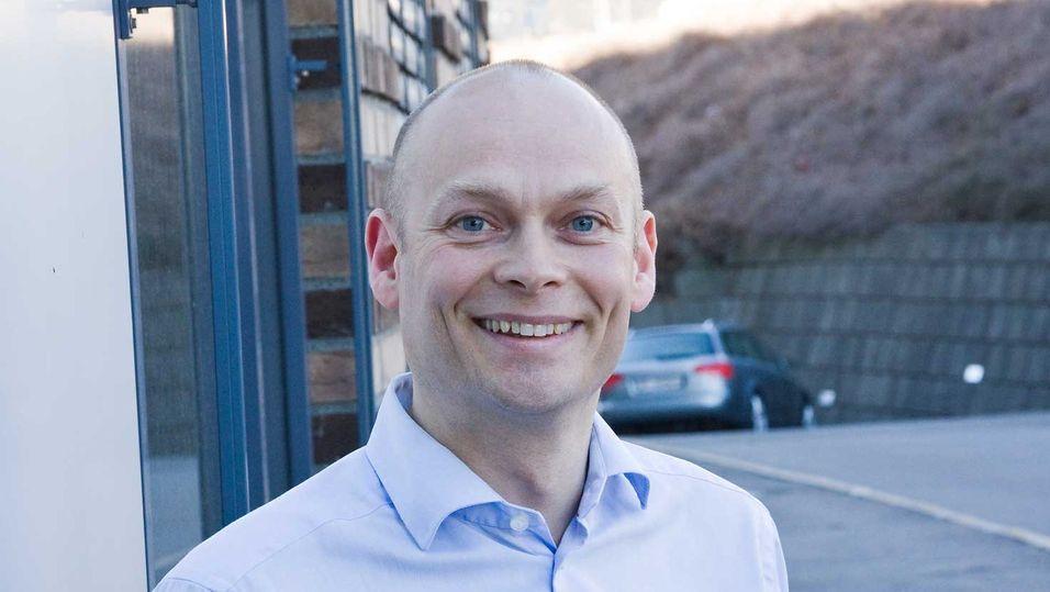 Teknisk sjef Roy Ove Nilssen i Netcom vil lære av danskene når selskapet skal ta i bruk småceller i løpet av året.