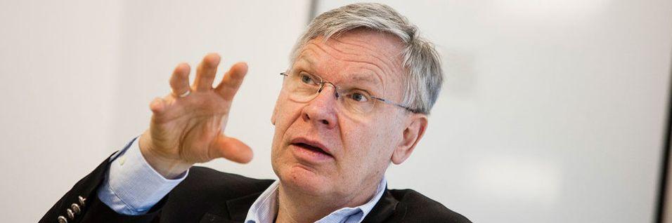 Adm. direktør i Cisco Norge, Jørgen Myrland tror vi de neste årene vil se en vekst hvor mennesker, prosesser, data og ting kobles sammen.