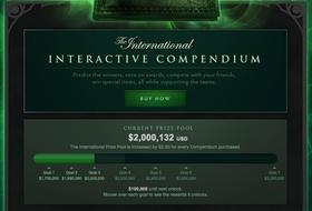 The International 3 har over 2 millioner dollar i premiepotten. (Faksimile: The Internationals nettsider).
