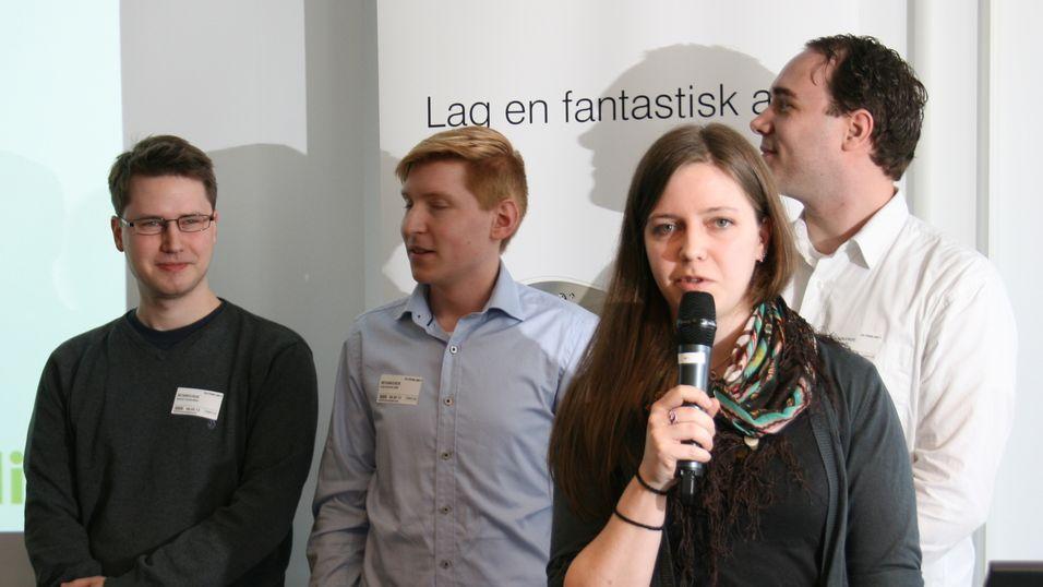 Fra venstre: Oddbjørn Undseth Bakke, Erik Chrisander Gustavsen, Ingrid Elisabeth Moen og Tedd Hansen.