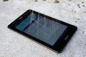 Den sju tommer store skjermen har ok bildekvalitet, men er ikke like god som den på Nexus 7.