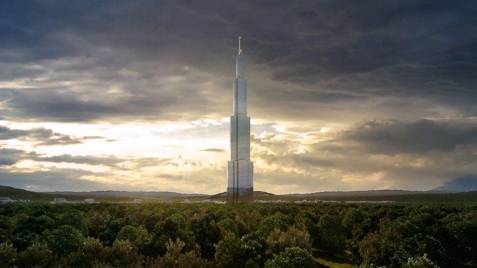 Sky City vil bli verdens høyeste bygning hvis den blir ferdigstilt.