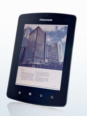 Denne ebok-leseren fra kinesiske Hanvon kom i januar 2012, og benyttet en Mirasol-skjerm på 1024x768 punkter. Nå har Qualcomm økt oppløsningen ytterligere, i neste generasjon Mirasol-skjermer.
