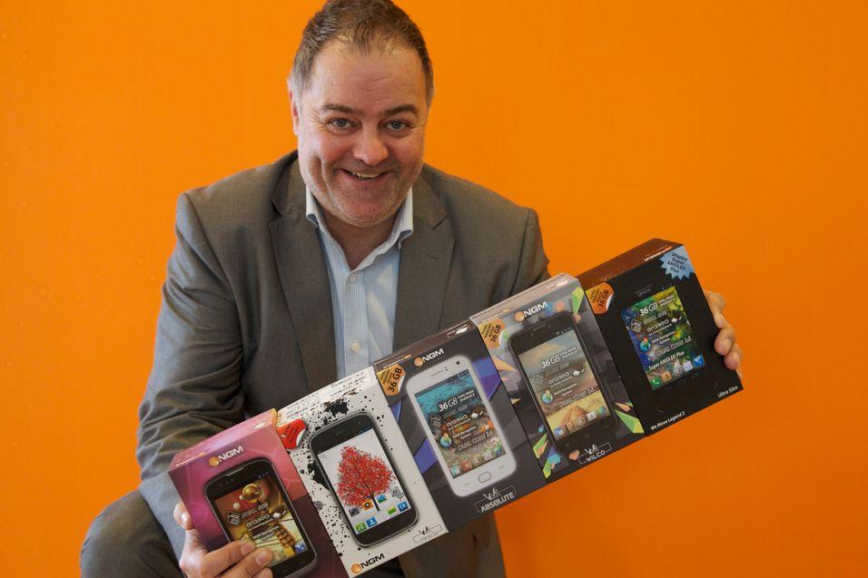 Saevo lanserer NGM dual-SIM-mobiler i Norge