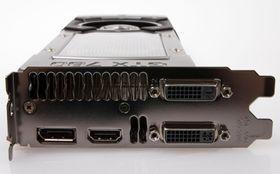 Som mange av dets slektninger har GeForce GTX 780 to DVI-utganger, HDMI og DisplayPort.