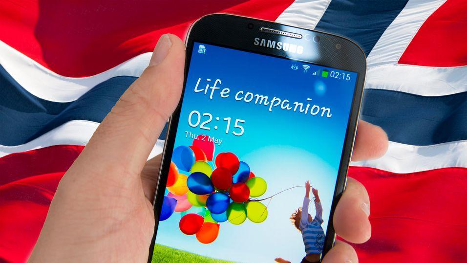 Er telefonen din godkjent for bruk i Norge?