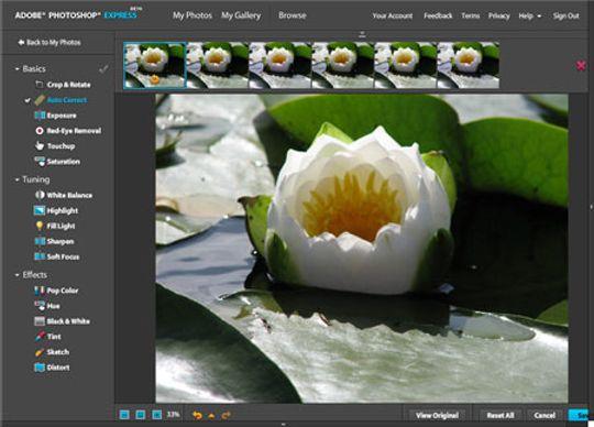 Photoshop Express er for de som ønsker å gjøre enkle justeringer for bildene sine.