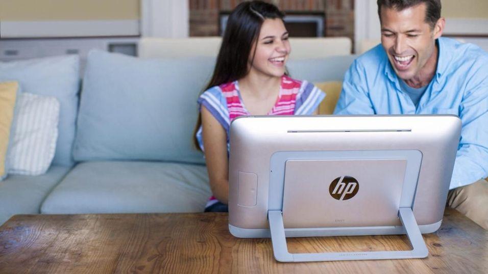 """HP slipper sin første """"bærbare"""" alt-i-ett-PC"""