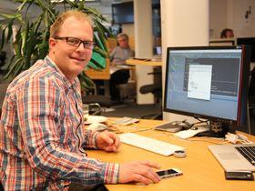 Kristoffer Framstad er leder for teamet som vedlikeholder og utvikler FINN Torget.