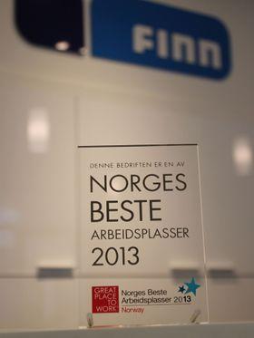 De siste årene har Finn.no ligget i teten i konkurransen om å være Norges beste arbeidsplass. .