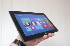 Microsoft Surface Pro er en PC. Samtidig er det et nettbrett med nesten dobbelt tykkelse av det som er vanlig.