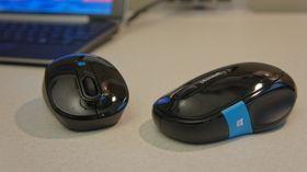 Sculpt Mobile Mouse (t.v.) og Sculpt Comfort Mouse.