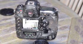 Lett ristet Nikon D3.
