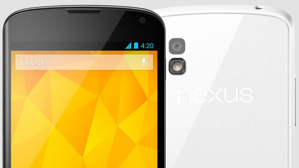 Nå får du Nexus 4 i hvitt