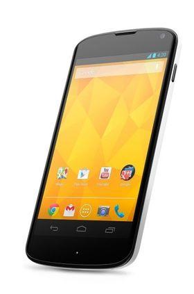 LG Nexus 4 White.