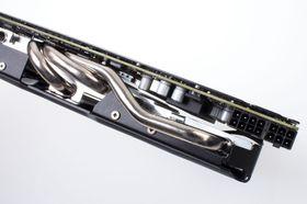Asus GeForce GTX 770 DirectCU II OC: Solide kjølerør, men helt vanlig kraftbehov.