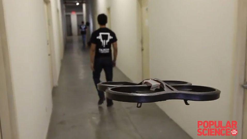 Drone følger deg som et lojalt kjæledyr