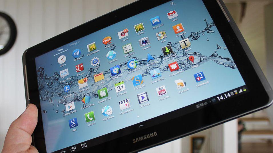 Dette kan være egenskapene til nye Galaxy Tab 3