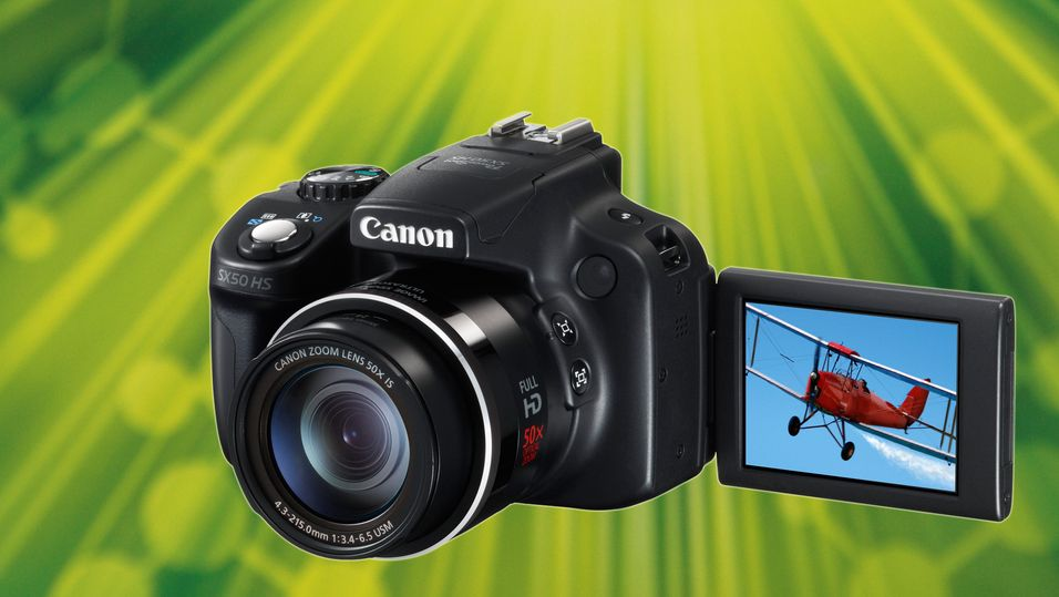 KONKURRANSE: Vinn Canons heftigste superzoomkamera