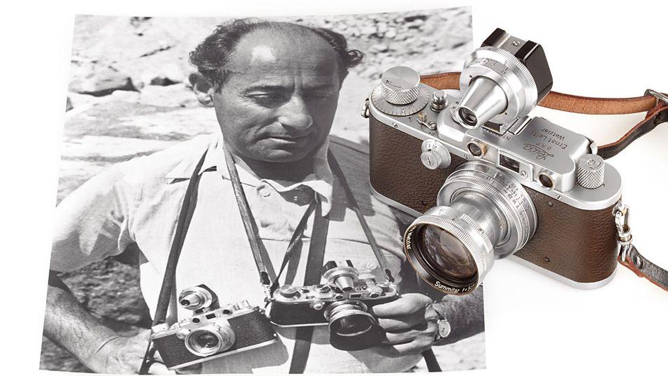 Historisk Leica solgt for nær én million