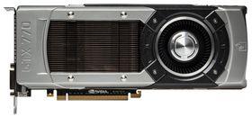 Nvidia GeForce GTX 770 er så godt som identisk med sine to storebrødre på utsiden.