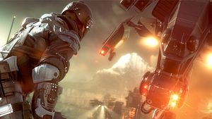 Killzone: Shadow Fall kan spilles mens det lastes ned