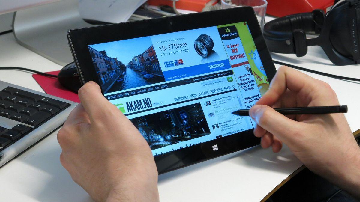 TEST: Microsoft Surface Pro - I bruk