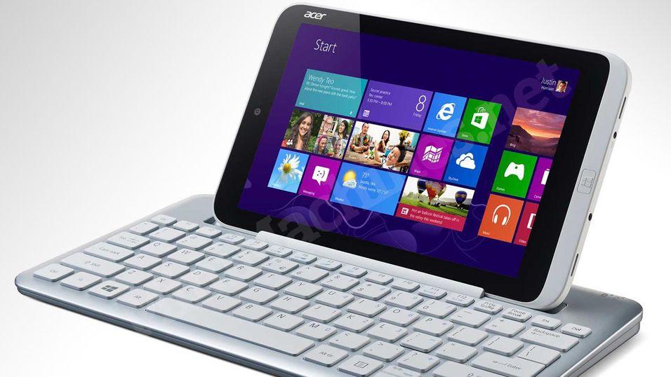 Her er det første Windows 8-nettbrettet på 8 tommer