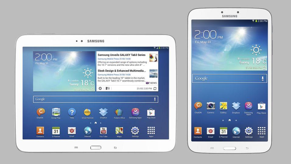 Samsung kunngjør nye Galaxy Tab 3-nettbrett