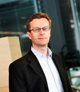 Administrerende direktør Aksel Aanensen i Ericsson i Norge.