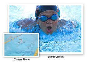 Mobilkameraer kontra fotokameraer.