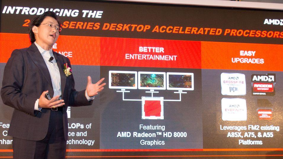 AMDs Lisa Su, Senior visepresident, leder lanseringen