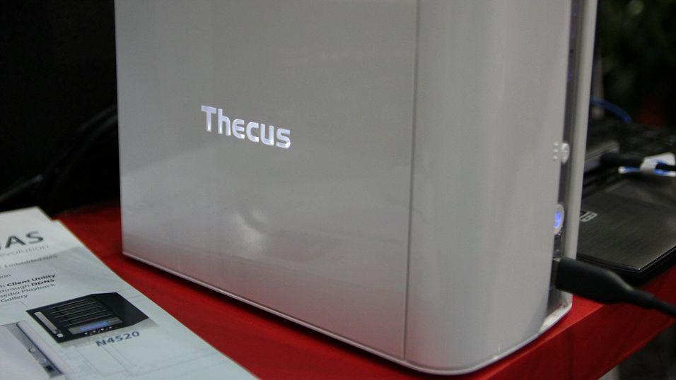 Thecus' nye modeller byr på nye muligheter.