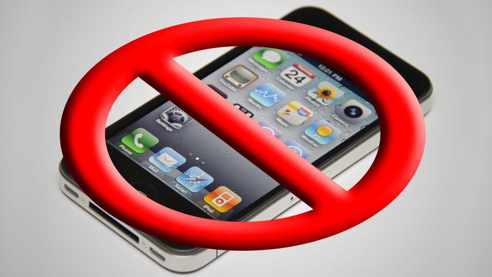 USA forbyr salg av iPhone 4