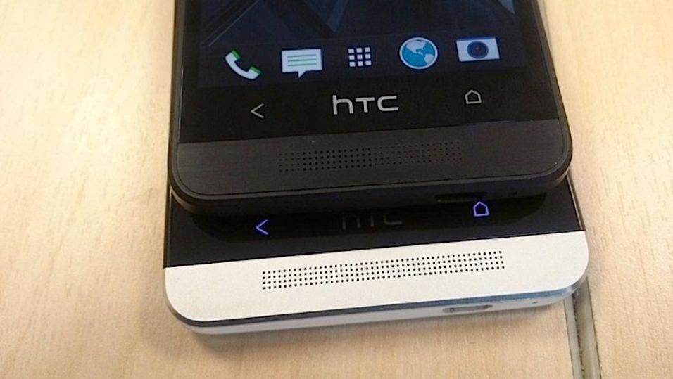 Er dette HTC One mini (øverst). Det hevder nettstedet Forte.
