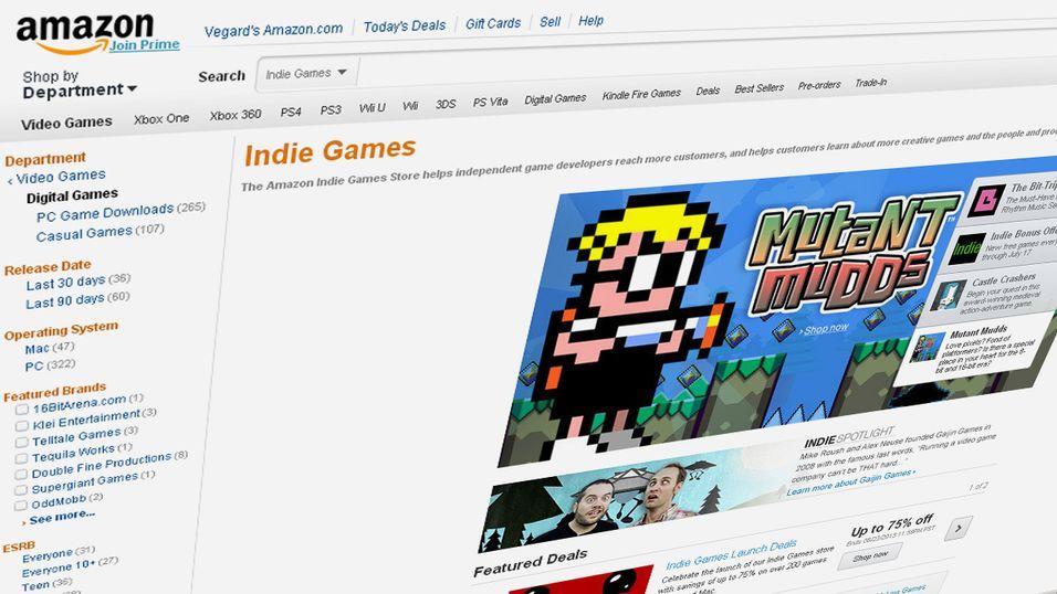 Amazon satser på indie-spill
