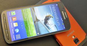 Samsung Galaxy S4 Active Samsungs vanntette Galaxy S4 er en råtass
