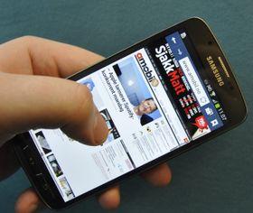 Med 4G går det lynraskt å surfe på nettet.
