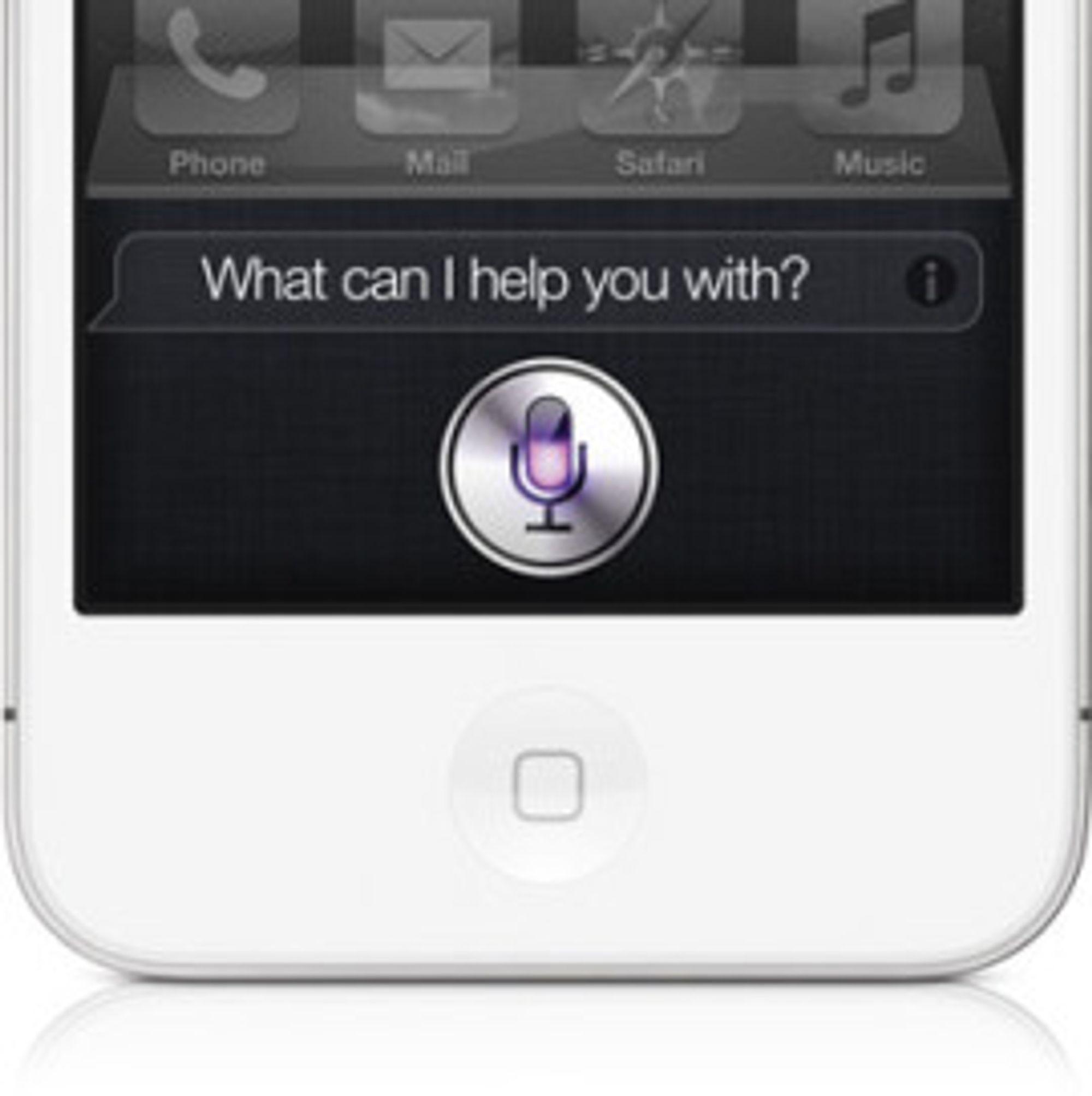 iPhones talestyring kan komme til OS X.