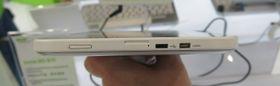 Micro-USB og HDMI micro på brettets ene kortside.