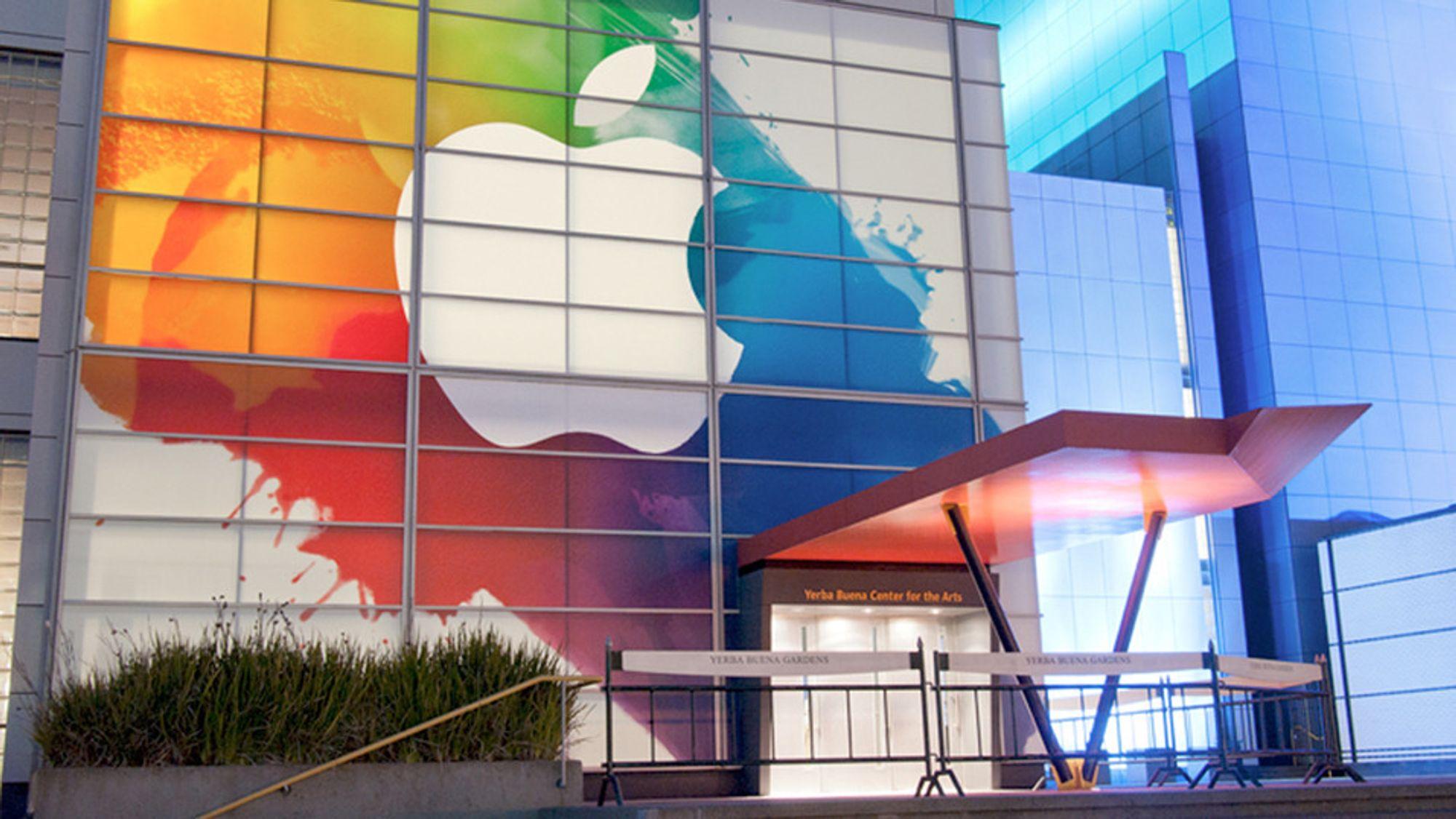 Vi fulgte Apples store lansering