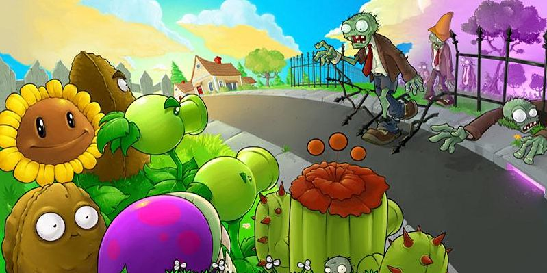 Plants vs. Zombies blir skytespill