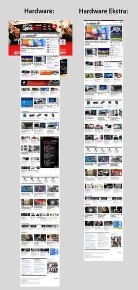 Som Ekstra-bruker ser du ingen annonser, og vi kan derfor gi deg en forside med større bilder og mer luft.