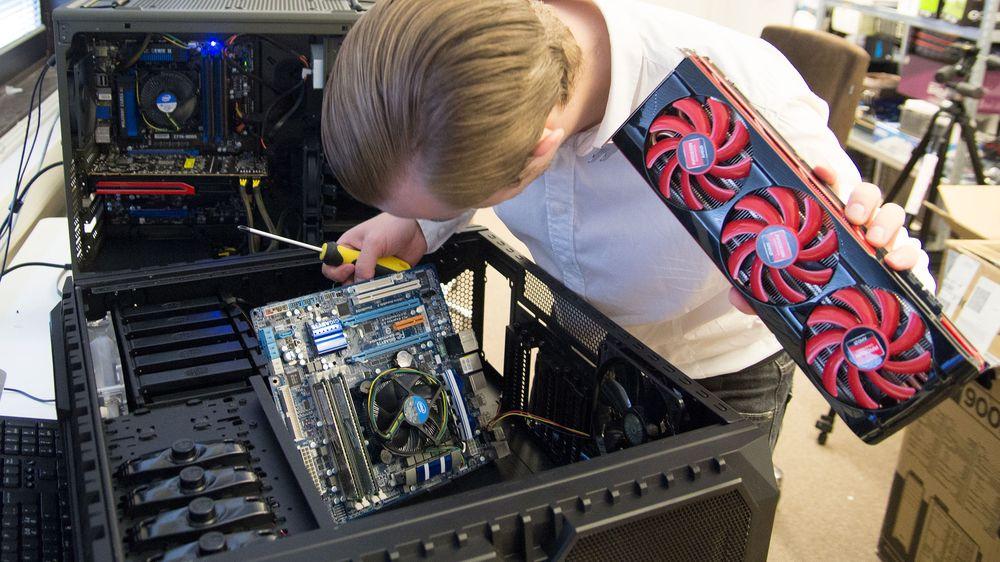GUIDE: Når datamaskinen ikke virker