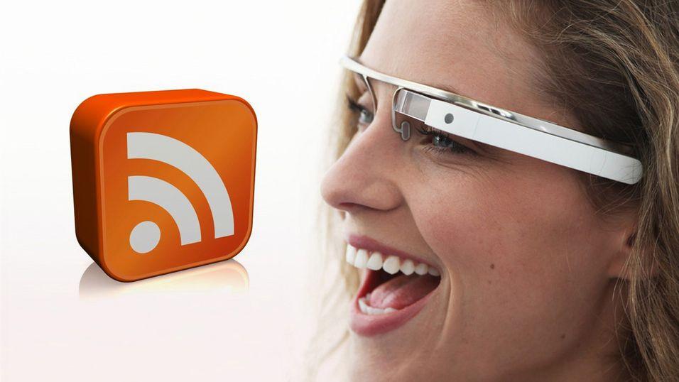 Google Glass får RSS-leser